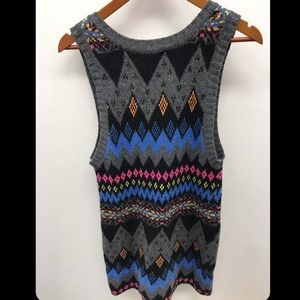 Sweater Mini Dress - Size S
